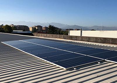 Impianto fotovoltaico industriale